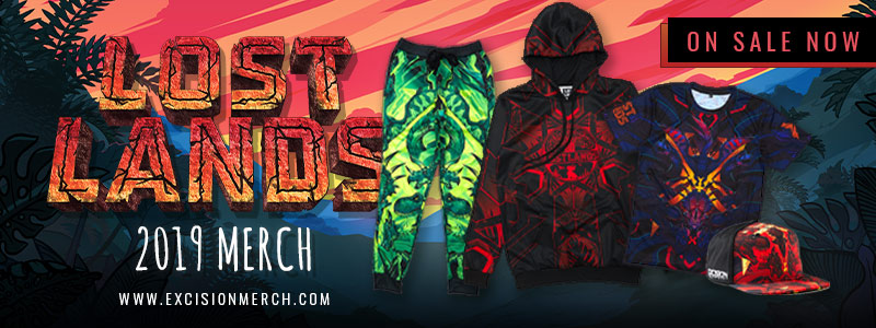 Official Lost Lands 2019 Merch Available Now