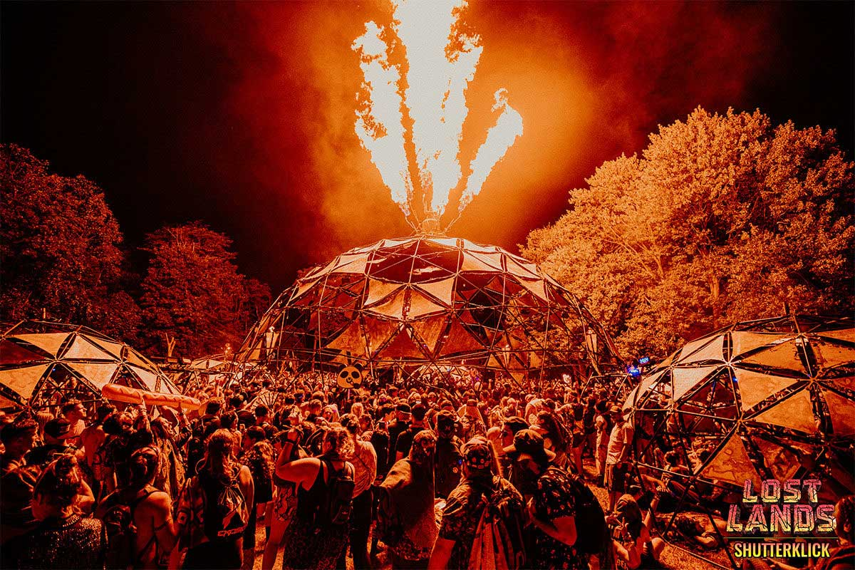 Lost Lands Fire dome